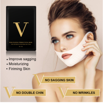 4D Double V Face Lifting Masks Collagen Hydro gel Mask