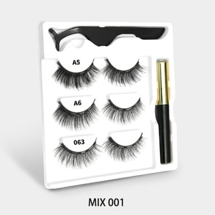 Magnetic Lashes With Magnetic Eye-Liner